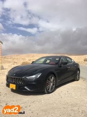 ענק רכב מזראטי מזראטי גיבלי (2018) למכירה מודעה 7210885 - ad NK-13