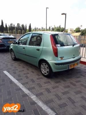 מגה וברק רכב פיאט פיאט פונטו ספייס (דור II) (2002) למכירה מודעה 7659736 - ad ZO-93