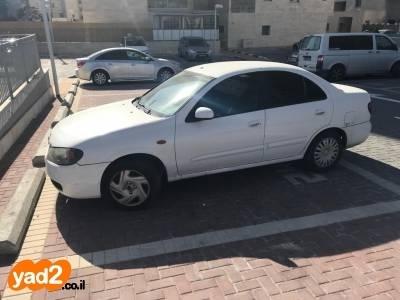 מתוחכם רכב ניסאן ניסאן אלמרה (2004) למכירה מודעה 8240508 - ad MG-24