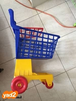 מעולה  עגלה סופר מפלסטיק מחיר 30 שקל אוסף לתינוק ולילד משחקים וצעצועים יד CR-63