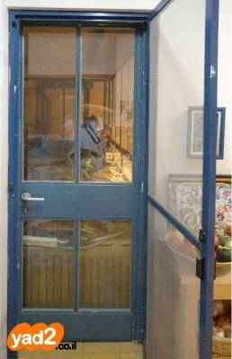 ברצינות דלת ברזל מפרופיל בלגי אמיתי, ריהוט דלתות יד שניה - ad HE-52