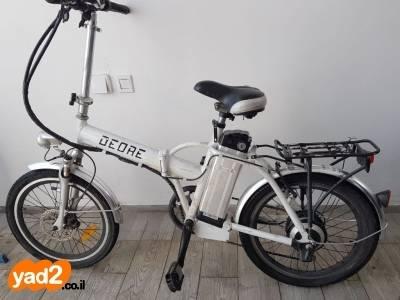 הוראות חדשות אופניים חשמליים בצבע לבן של יד שניה - ad WH-91