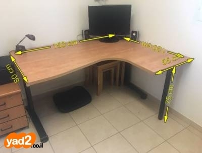צעיר שולחן עבודה / מחשב פינתי ריהוט משרדי יד שניה - ad OA-63
