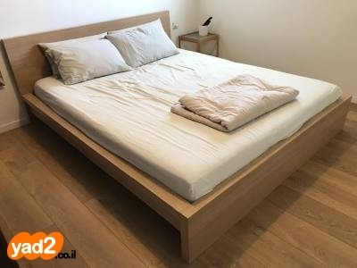 מותג חדש מיטת malm של איקאה בצבע ריהוט מיטות מיטה זוגית יד שניה - ad BK-82