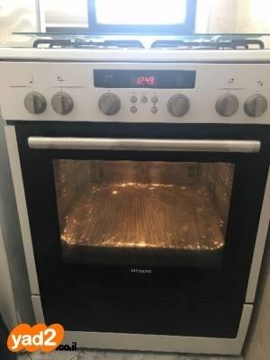 בלתי רגיל תנור משולב כיריים במצב מעולה מוצרי-חשמל אפייה Siemens יד שניה - ad BW-77