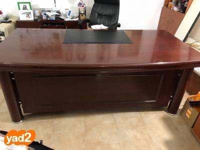 מותג חדש סט שולחני מהמם, חום מהגוני, ריהוט משרדי שולחן יד שניה - ad JH-24