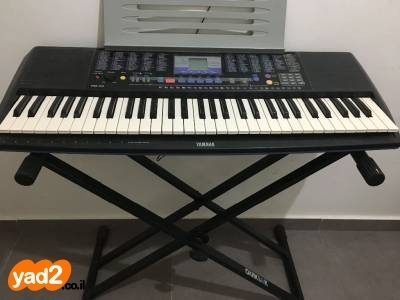 בלתי רגיל פסנתר חשמלי ימאהה Yamaha PSR-190 כלי נגינה יד שניה - ad NW-91