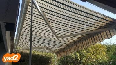 מגה וברק סוכך ידני רוחב 3 מטר נפתח 2 לגינה פרגולות יד שניה - ad MY-58
