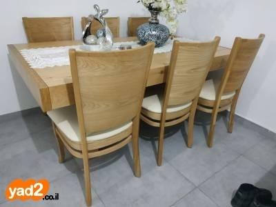 מדהים סט מזנון ושולחן לסלון אלון ריהוט תכולת דירה יד שניה - ad AL-06