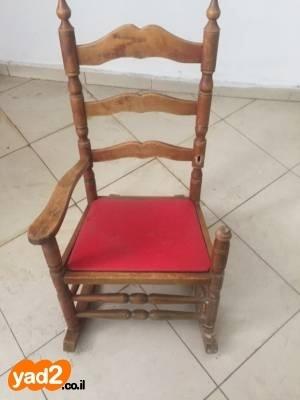 מסודר כיסא נדנדה לילדה ריהוט יד שניה - ad ZY-78