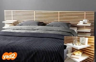 מיוחדים ראש מיטה זוגית איקאה דגם מנדל ריהוט מיטות יד שניה - ad GX-28